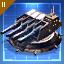 Quad 3500mm Siege Artillery II Blueprint