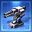 220mm Vulcan AutoCannon I Blueprint