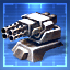 800mm Repeating Cannon I Blueprint