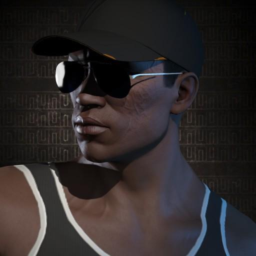 Big Black Dude