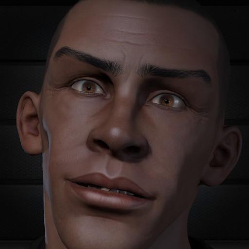 BlackMan Face