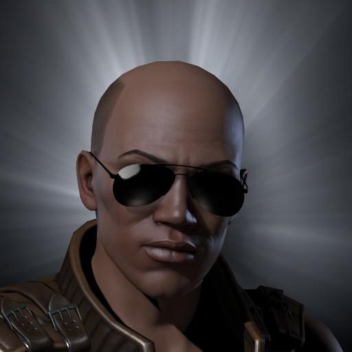 Black Mr Garrison