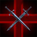 Red cross and sword