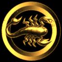 Golden Scorpio Maurus