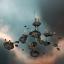 Asteroid Colony - Medium Size