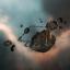 Asteroid Colony - Flat Hulk
