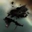 Gallente Carrier Wreckage