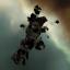 Gallente Titan Wreckage