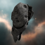Cloven Grey Asteroid