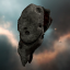 Cloven Red Asteroid
