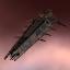 Minmatar Hurricane Battlecruiser