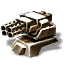 800mm Heavy Prototype Automatic Cannon